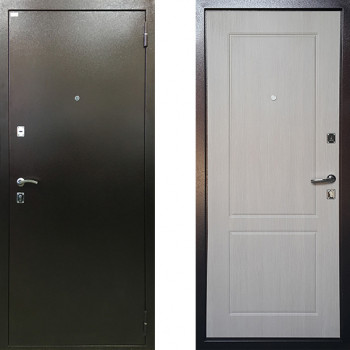 Металлическая входная дверь Ратибор Форт Люкс Капучино