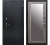 Входная дверь Ратибор Классик 3К с зеркалом (Бетон Светлый)