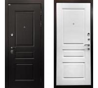 Металлическая дверь Ратибор Лондон 3К (цвет Матовый Белый)