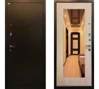 Дверь входная Ратибор Милан с зеркалом (Цвет ЭкоДуб)