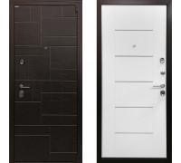Металлическая дверь Ратибор Омега 3К (цвет Белый Ясень)