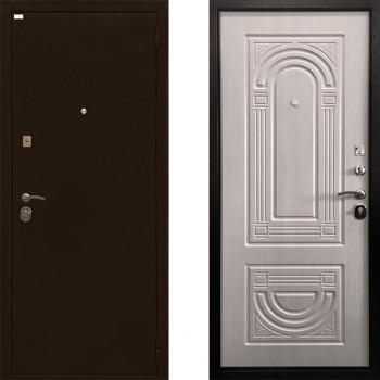 Металлическая дверь Ратибор Оптима 3К (Цвет ЭкоДуб)