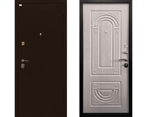 Дверь входная металлическая Ратибор Оптима 3 Контура (Цвет ЭкоДуб)