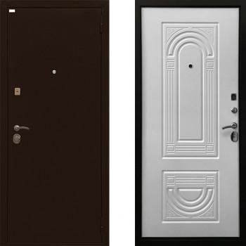 Металлическая дверь Ратибор Оптима 3К (Цвет Матовый Белый)