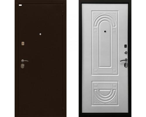Дверь входная Ратибор Оптима 3К (Цвет Матовый Белый)