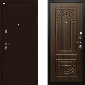 Металлическая дверь Ратибор Оптима 3К (Цвет Орех Бренди)