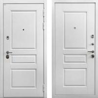 Металлическая дверь Ратибор Сноу 3К (цвет Силк сноу)