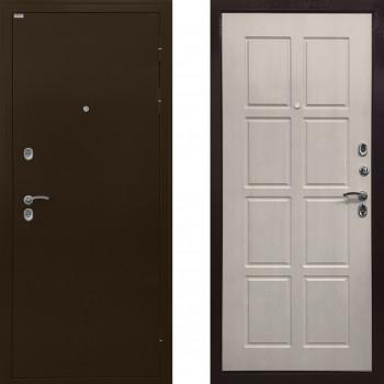 Непромерзающая входная дверь с терморазрывом Ратибор Термоблок (Цвет Лиственница Беж)