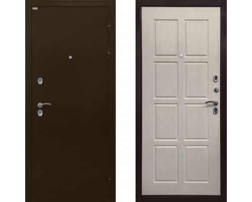 Непромерзающая входная дверь с терморазрывом Ратибор Термоблок (Цвет Лиственница Беж) с терморазрывом