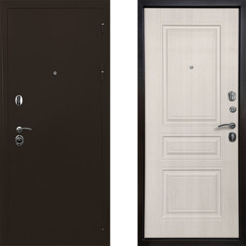 Металлическая дверь Ратибор Троя 3К (Цвет Лиственница Беж)