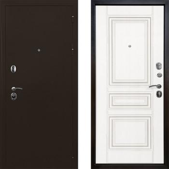 Входная металлическая дверь Ратибор Троя 3К (Цвет Белый Матовый)