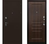 Дверь входная металлическая Ратибор Троя 3К (Цвет Орех Бренди)