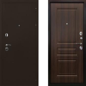 Металлическая дверь Ратибор Троя 3К (Цвет Орех Бренди)