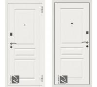 Входная металлическая дверь Райтвер Х4 Белый с теплоизоляцией