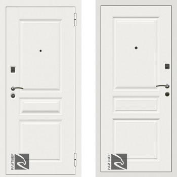Металлическая дверь Райтвер Х4 Белый