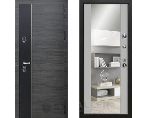 Входная железная дверь Staller Стило Манхетен зеркало