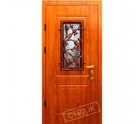 Металлическая дверь СТРАЖ Lattise Осень
