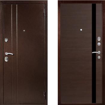 Металлическая дверь Техно Т6 Венге