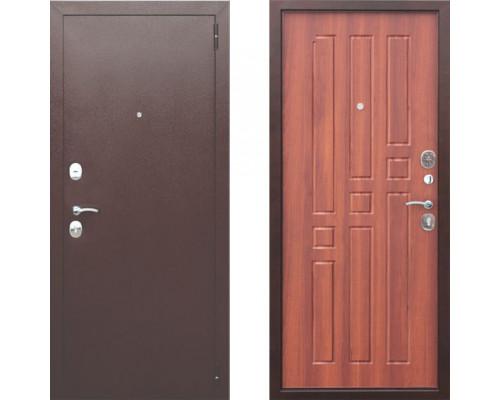 Входная дверь в квартиру металлическая Цитадель Гарда 8 мм Рустикальный Дуб