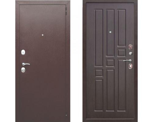 Входная дверь в квартиру Металлическая Цитадель Гарда 8 мм Венге