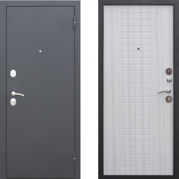 Входная дверь в квартиру металлическая Цитадель Гарда Муар 8 мм Белый Ясень
