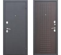 Входная дверь в квартиру Металлическая Цитадель Гарда Муар 8 мм Венге