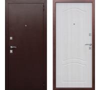 Дверь входная в квартиру металлическая Цитадель Доминанта Белый Ясень