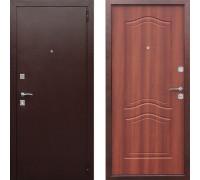 Входная дверь в квартиру металлическая Цитадель Доминанта Рустикальный Дуб