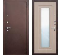 Входная дверь ЮГ Царское зеркало Беленый Дуб