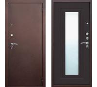 Входная металлическая дверь ЮГ Царское зеркало Венге