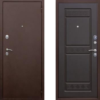 Металлическая дверь ЮГ Троя Медь